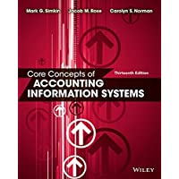 Core Concepts of Accounting Information Systems 13E