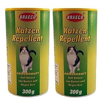 Braeco Repelente de gatos, Aroma repelente contra gatos, Asusta gatos: Amazon.es: Hogar