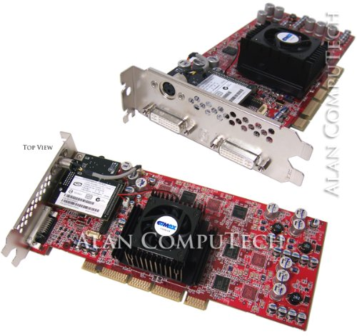 ATI FireGL Z1 128MB DDR AGP Dual DVI Graphics Video Card (JMR-Z1-128)