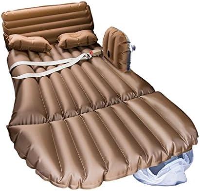 車用ベッド 車の空気のベッド多機能Foldableポータブル旅行キャンプ車の後部座席膨脹マットレス旅行と睡眠の休息(空気ベッド×1ピロー×2エアーポンプ×1) (色 : A, サイズ さいず : Oxford)