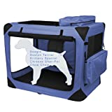 Cheap Pet Gear Generation II Deluxe Portable Soft Crate for cats and dogs up to 50-pounds, Light Lavender