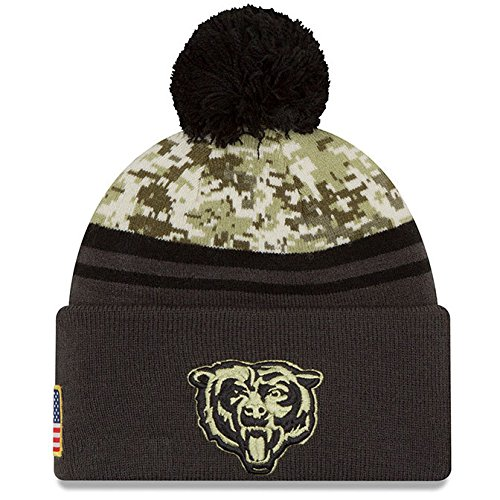95760e97 Chicago Bears Salute To Service Camo Hat