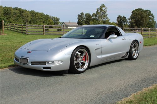 Amazon.com: Poster of Chevy Corvette C5 Turbo Z06 on CCW Wheels Left Front Silver HD 36 X 24 Inch Print: Posters & Prints
