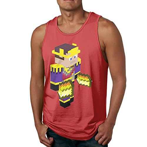 GOOOET Men's Stampy Cat Tank Top Gym T Shirt