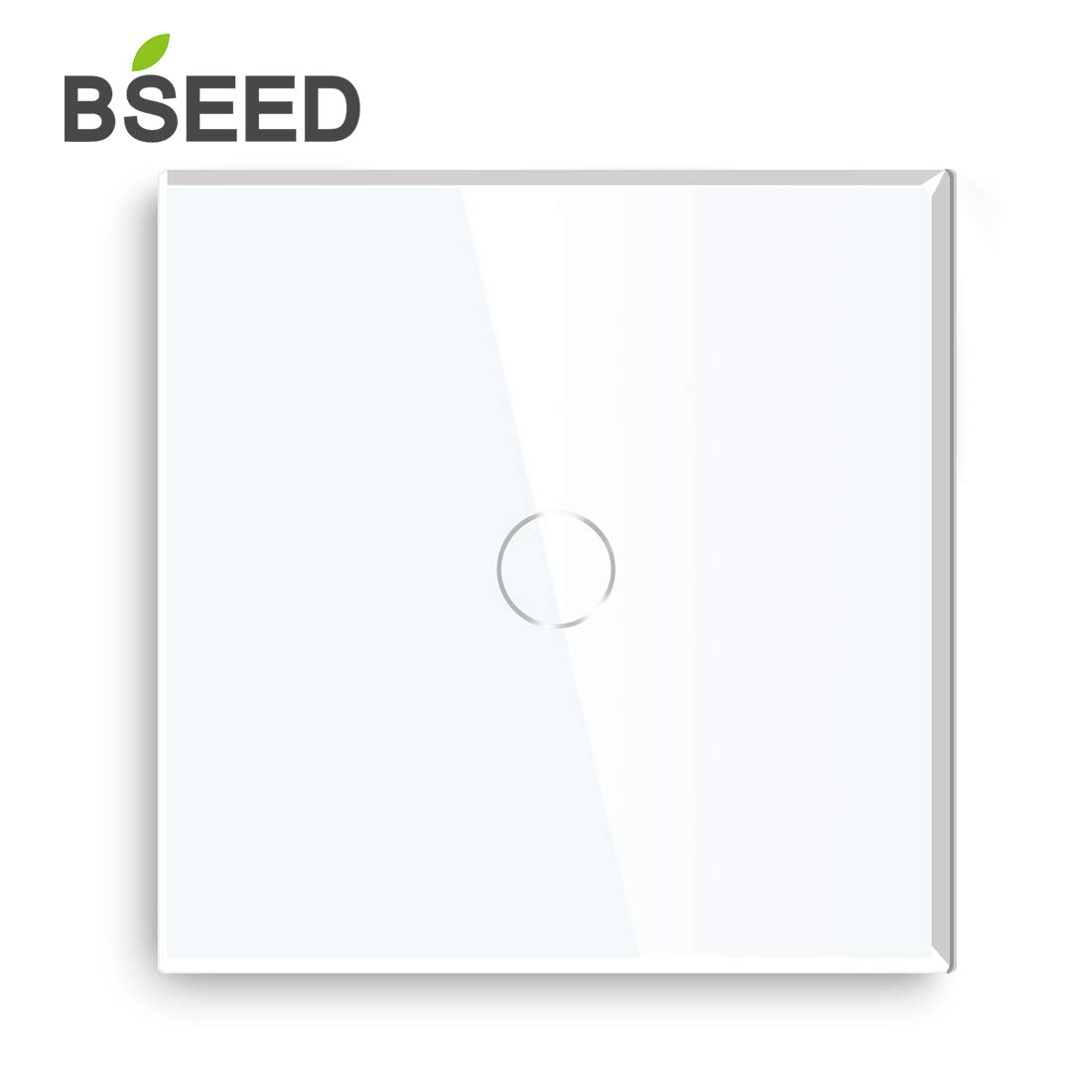 BSEED interruptor luz pared 3 Gang 1 Way interruptor tactil pared Blanco LED Interruptor de luz de pared remoto inal/ámbrico-con mando a distancia