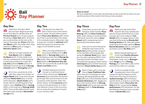 lonely planet bali travel guide