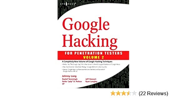 Google penetration testing vol 2