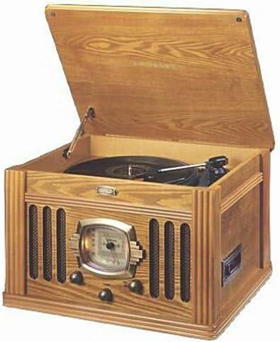 Crosley CR-67-OA Turntable w Cassette