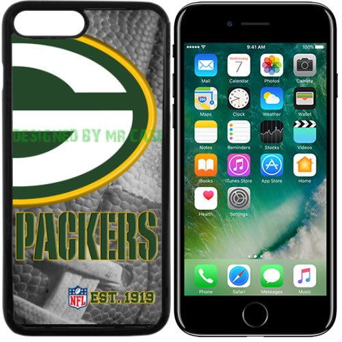 Packers GB Football New Black Apple iPhone 7 Plus Case By Mr Case