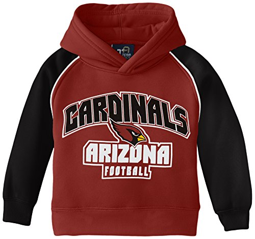 NFL Youth Arizona Cardinals Team Two Tone Fleece Hoodie, 7#, 12 Months, Cardinal (Arizona Cardinals Youth Hoodie)