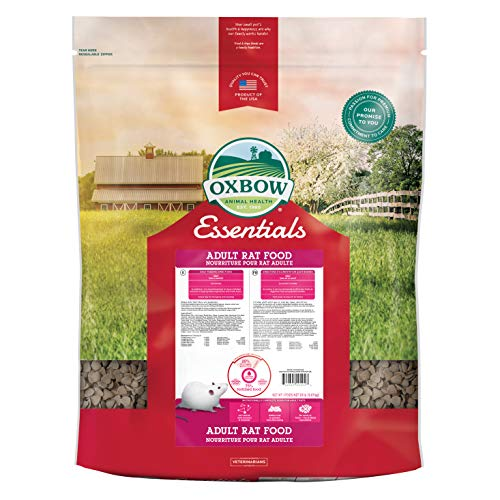Oxbow Animal Health Essentials Regal Adult Rat Food, 20-Pound (Best Rat Food For Young Rats)