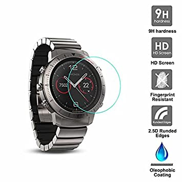 KAIBSEN® Para Garmin Fenix Chronos Sport Smart Watch 2.5D ...