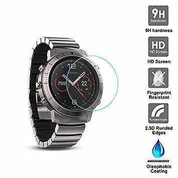 KAIBSEN® Para Garmin Fenix Chronos Sport Smart Watch 2.5D ...