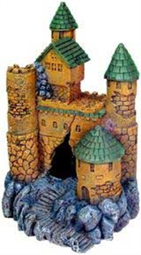 Large Castle (Exotic Environments Large Castle Aquarium Ornament)