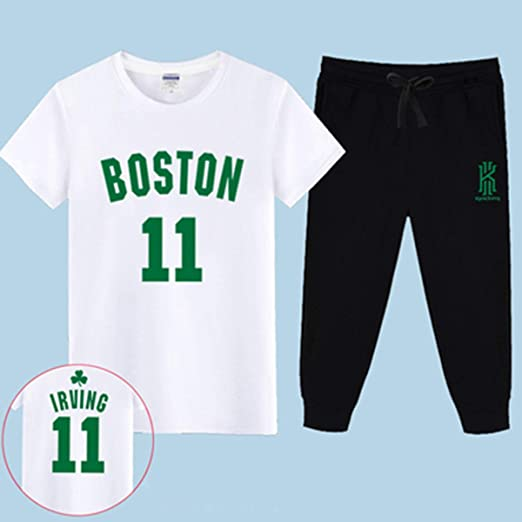 ENTHUSIAST Ventilador Conjunto Jersey NBA Celtas Kyrie Irving # 11 ...
