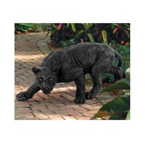 Panther Statue Garden Decor Home Garden Decor Yard Art by Garden Expert Creations