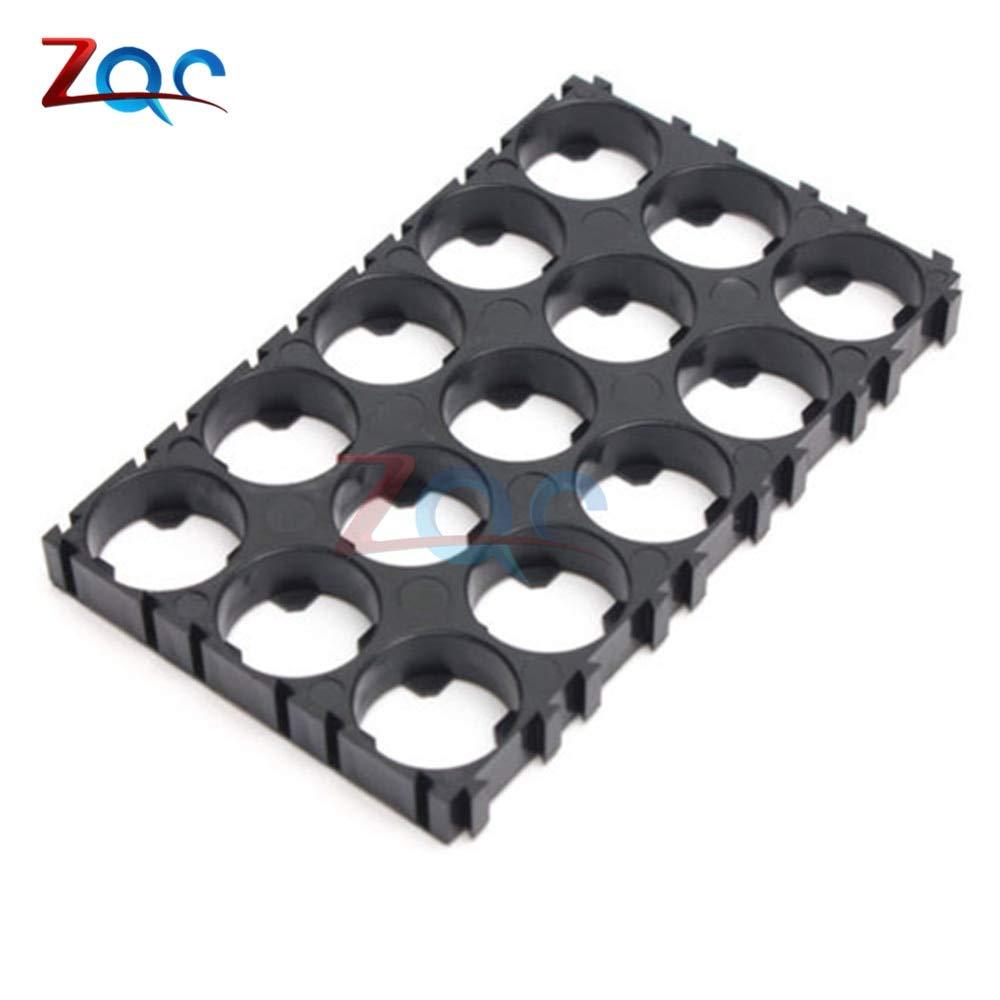 100PCS 18650 Battery Spacer Radiating Shell EV Pack Plastic Heat Holder Bracket