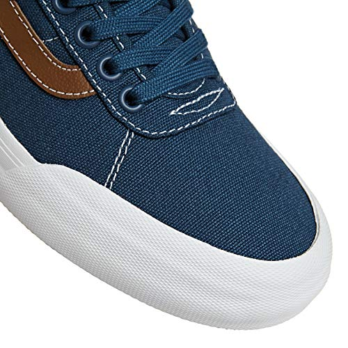 Dark Chaussures Denim Pro Dachshund Canvas Vans Noir 2 Chima Blanc 7Pfdn0