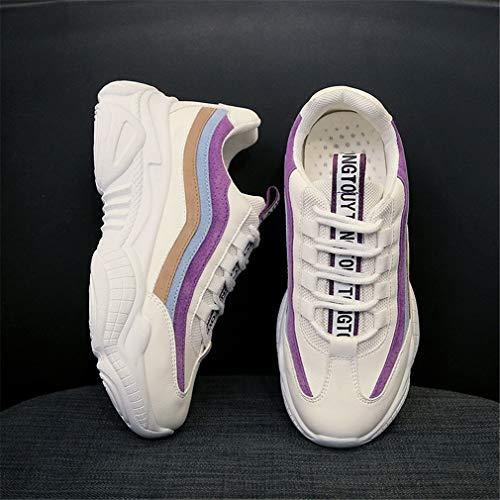 Piattaforma C In Yan Sportive Basse Donna Indossare Scarpe Sneakers Fall Microfibra Da Moda Casual amp; Antiscivolo Spring 4OFqC