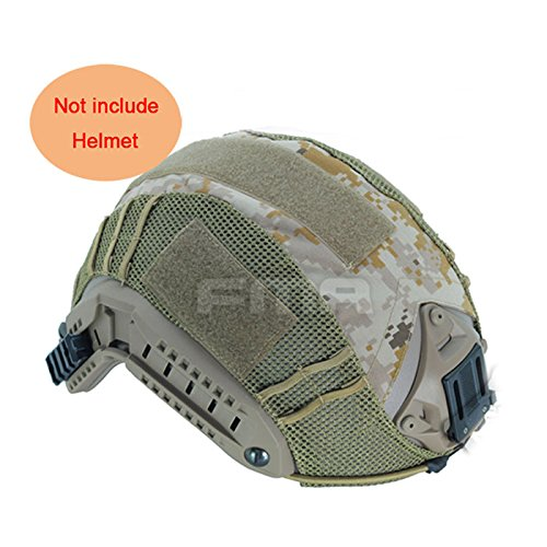 ATAIRSOFT Military Army Tactical Series Airsoft Paintball Hunting Shooting Gear Combat Maritime Helmet Cover AOR1 (Desert Digital Camo)