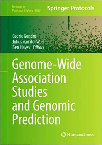 Download Genome-Wide Association Studies and Genomic Prediction (Methods in Molecular Biology) PDF