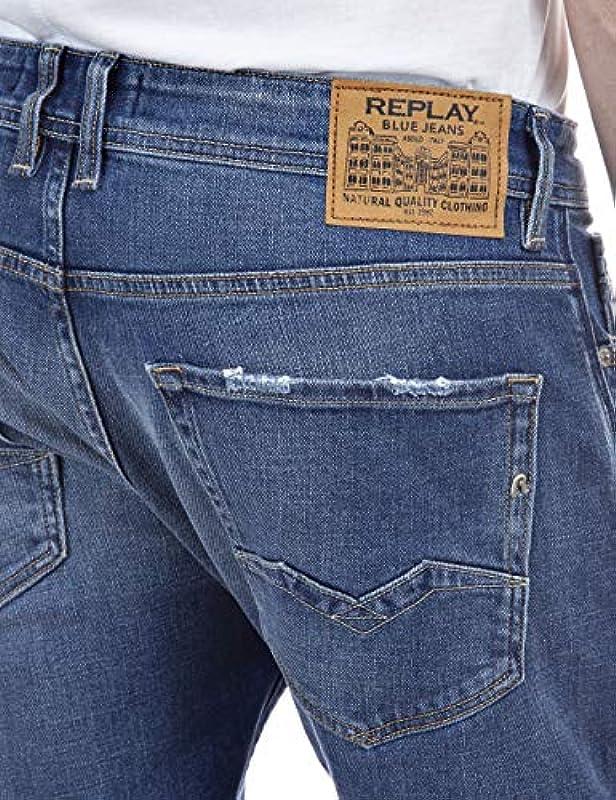 Replay Męskie dżinsy Rocco: Odzież