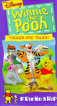 Winnie The Pooh And Tigger Too Vhs Amazon