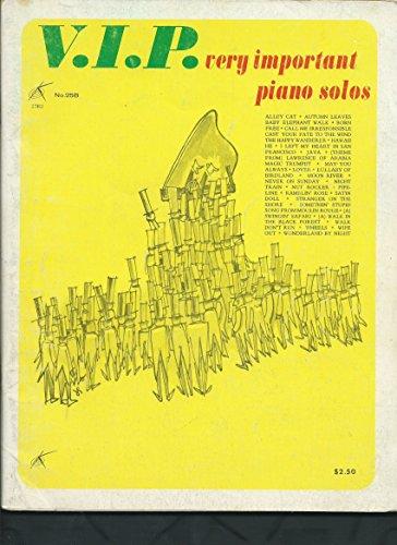 V.I.P. very important piano - Key Black Tiffany