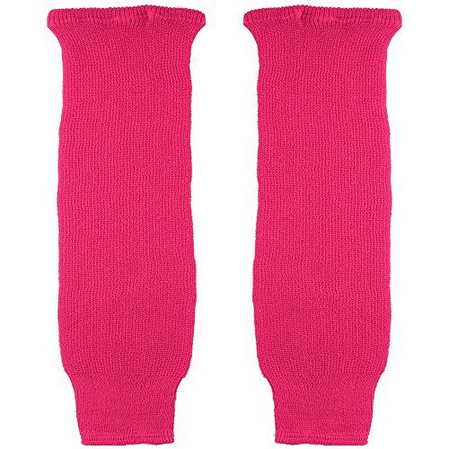 (CCM S100 Solid Color Hockey Socks - Child - Pink )