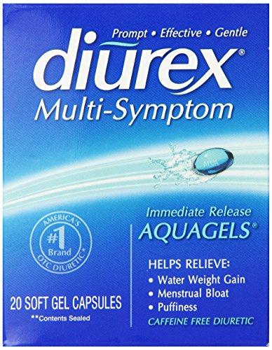 Diurex aquagels, Capsules 20 Count
