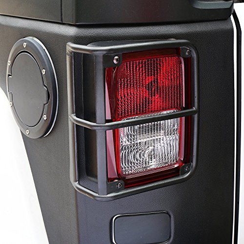 Hooke Road Tailllamp Cover for 07-17 Jeep Wrangler JK & Wrangler Unlimited – Pair