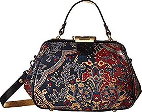 (Patricia Nash Women's Gracchi Satchel Provencal Escape One Size)