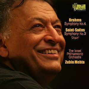 Brahms: Symphony No.4; Saint-Saens: Symphony No. 3 in C minor, op. 78 Organ