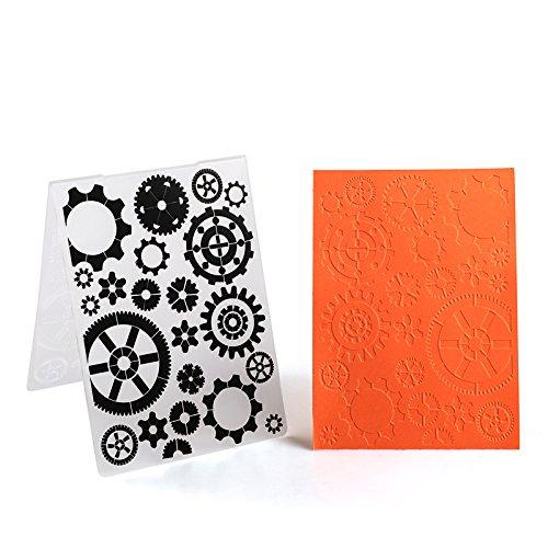 Plastic Embossing Folder For Scrapbook DIY Album Card Tool Plastic Template (57060)