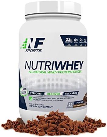 NF Sports NutriWhey Powder Belgian Chocolate, 2LB