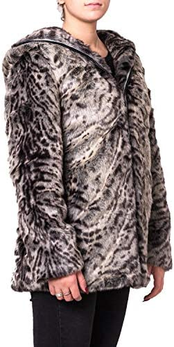 Canadian Giacca W Apex Hood Fake Fur Grey - G219303WGRE