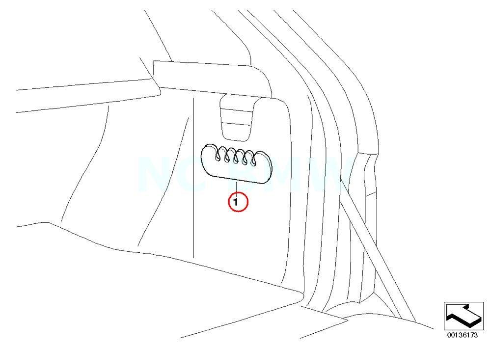 Amazon Com Bmw Genuine Bag Holder Automotive