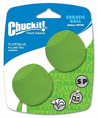 - Chuckit! Erratic Ball, Small, 2-Inch, by Canine Hardware