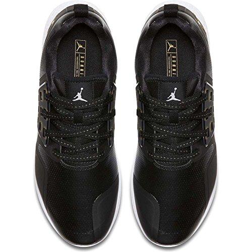 Jordan Zapatillas Grind Negro/Dorado/Blanco Talla: 48,5
