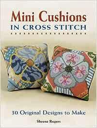 Love Trophy inspired by Faberg\u00e9 Mini Cushion Cross Stitch Kit Sheena Rogers Designs