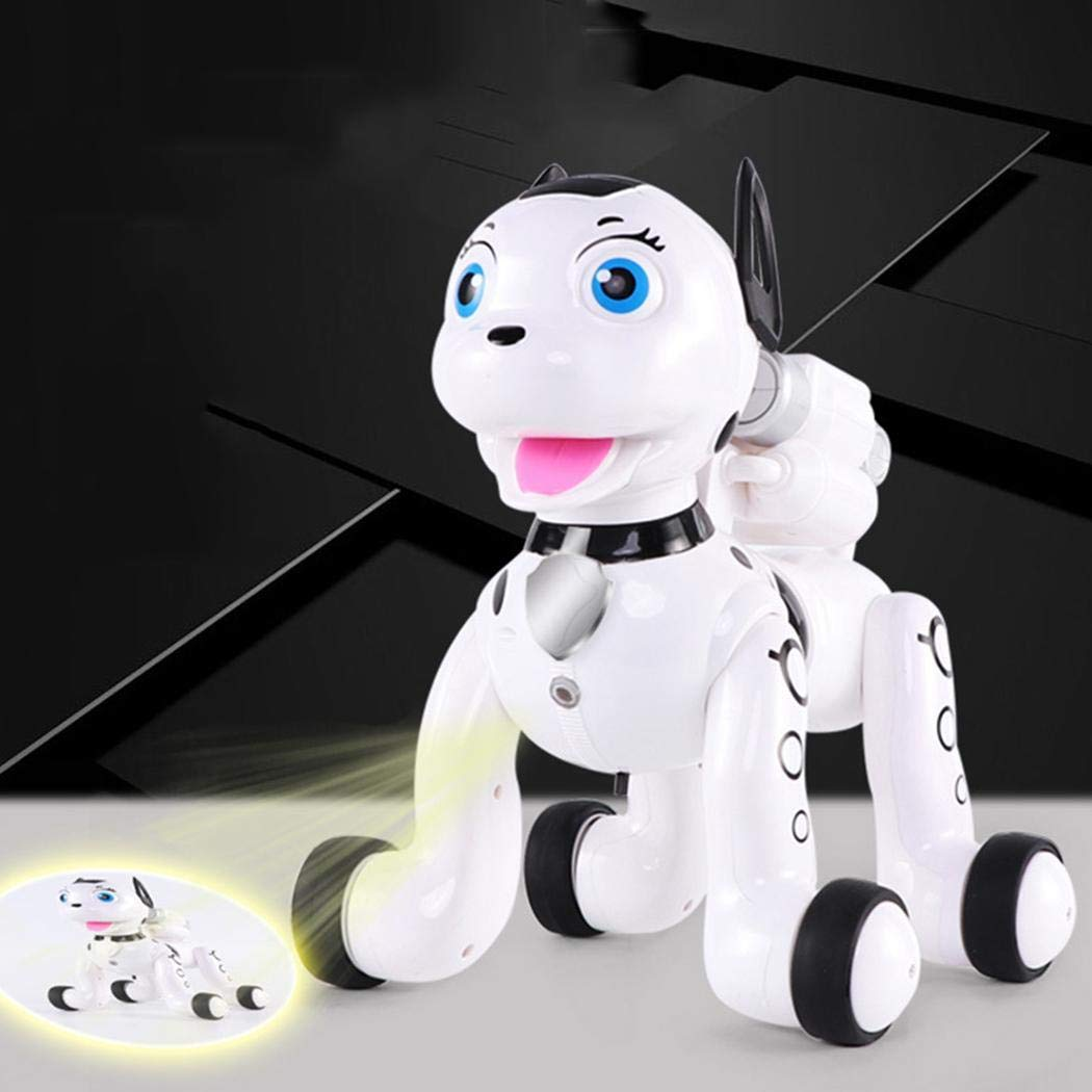 delvet Multifunctional Electric Cute Intelligent Robot Dog Toy Early Education Toy Robots