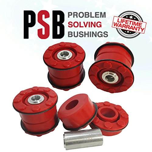 (BMW X5 (E53) Rear Sub Frame Polyurethane Bushing Kit (01-06) RED -PSB 648 )