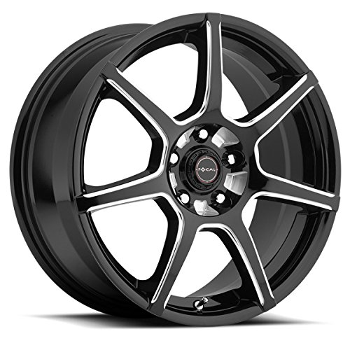 Focal 422BM F-007 Matte Black Wheel (18x8
