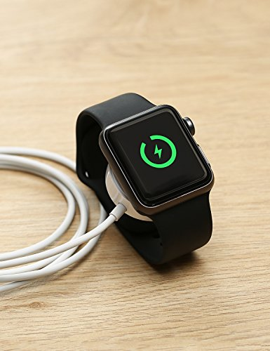 IQIYI Apple Watch Charger, Apple MFi Certified, 1.0ft(0.3M) Magnetic Charging Cable Cord for Apple Watch/iWatch Series 1/2/3 (38mm & 42mm) Portable Charger by IQIYI (Image #6)