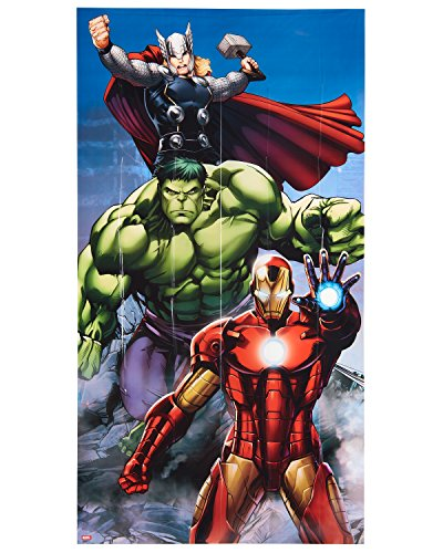 American Greetings Avengers Epic Party Supplies, Door Cover, 1-Count