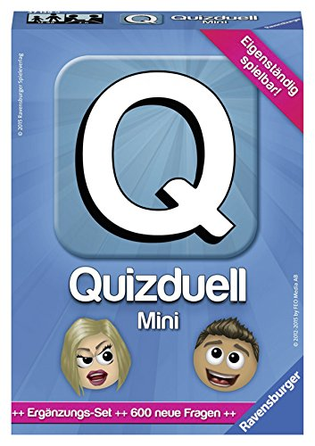 Ravensburger Spiele 27139 - Quizduell Mini