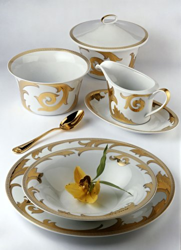 Versace by Rosenthal Arabesque Gold Service Plate