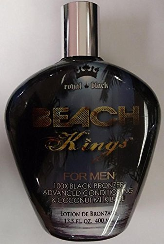Beach Kings 100X Black Bronzer for Men Indoor Tanning Bed Lo