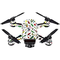Skin For DJI Spark Mini – Bright Lures | MightySkins Protective, Durable, and Unique Vinyl Decal wrap cover | Easy To Apply, Remove, and Change Styles | Made in the USA