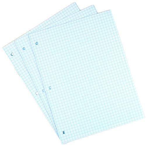 "Staples Graph Ruled Filler Paper, 8"" x 10-1/2"""